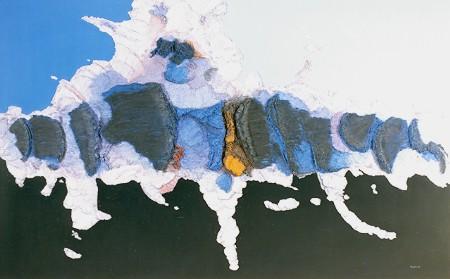 Fernand Toupin, La nuit des rois, 1986, acrylique sur toile sur bois, 152,3 x 243,6 cm