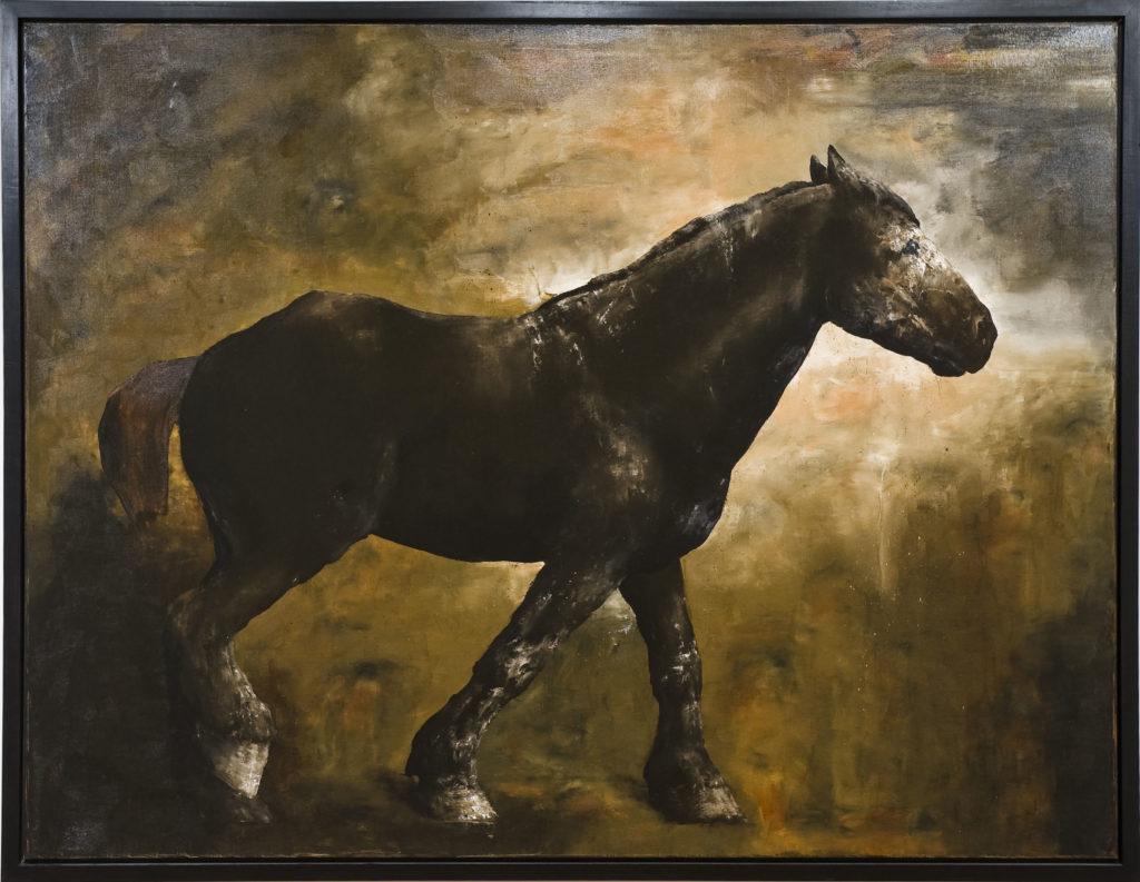 Kevin Sonmor, Dusel, 2007, huile sur toile de lin, 183 x 238,8 cm