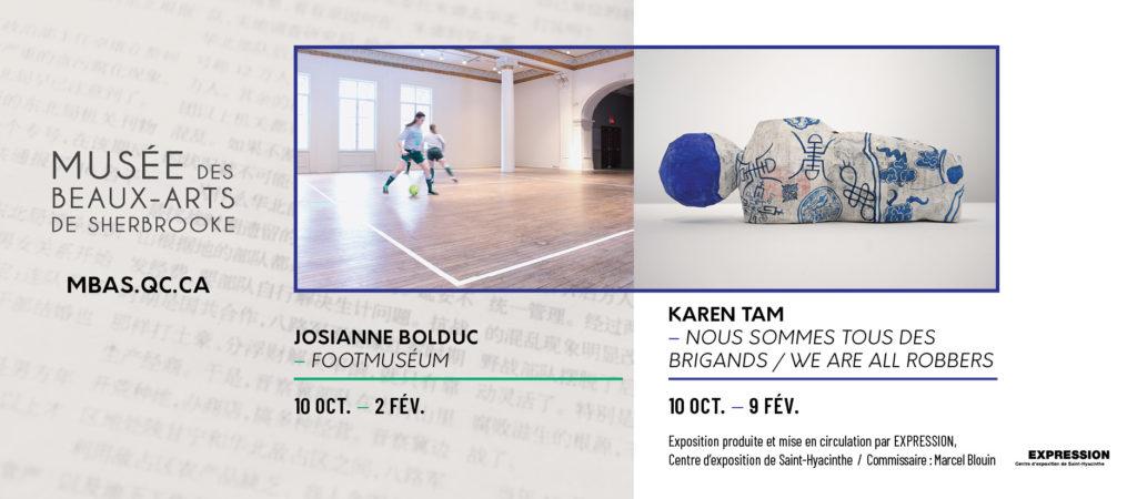 Autumn exhibitions' banner