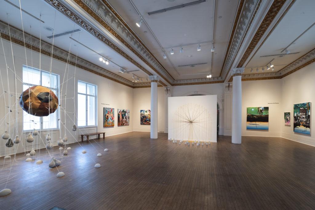 Space 9, 2019, Musée des beaux-arts de Sherbrooke. Photographie : François Lafrance