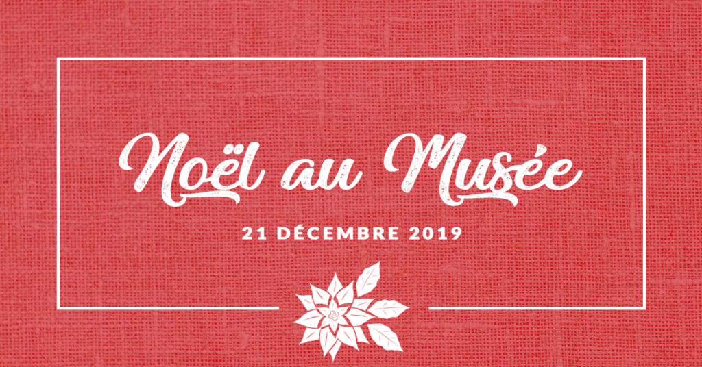 Bandeau Noël au Musée